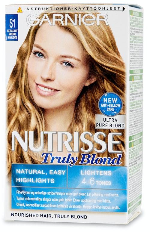 Garnier Ekstra Lyse Striper Nutrisse Truly Blond, 1 stk
