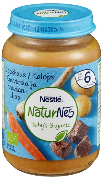 Nestlé NaturNes Lapskaus Fra 6 mnd, 190 g