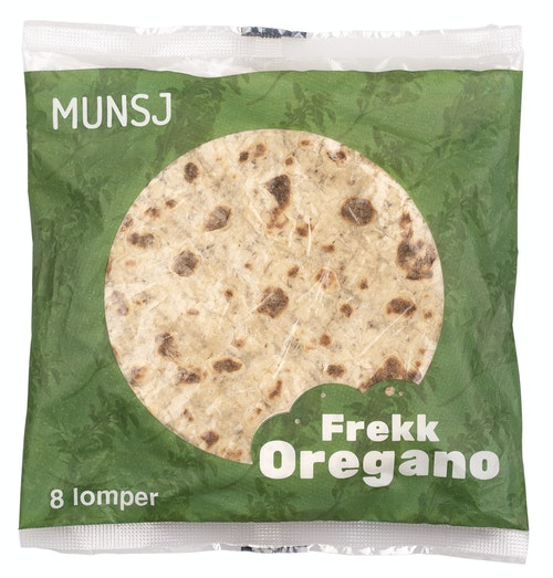 Munsj Lomper Frekk Oregano 8 stk