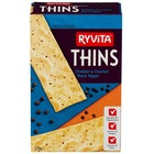 Thins Cheddar & Cracked Pepper