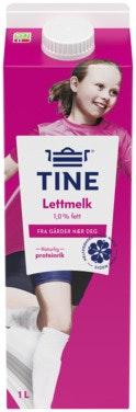 Tine TineMelk Lett 1 l