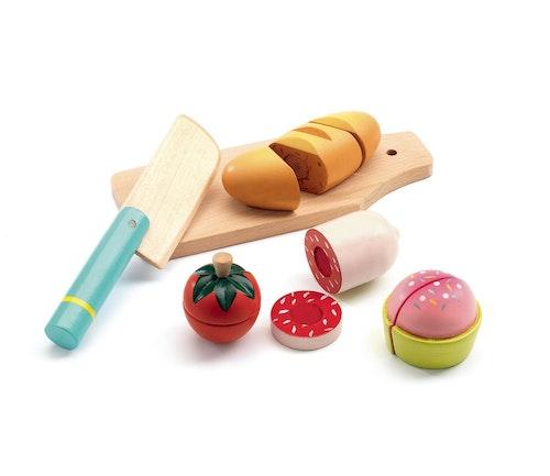 Djeco Frokostleker i tre 1 stk