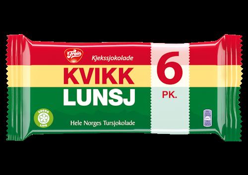 Freia Kvikk Lunsj 6-pk 282 g