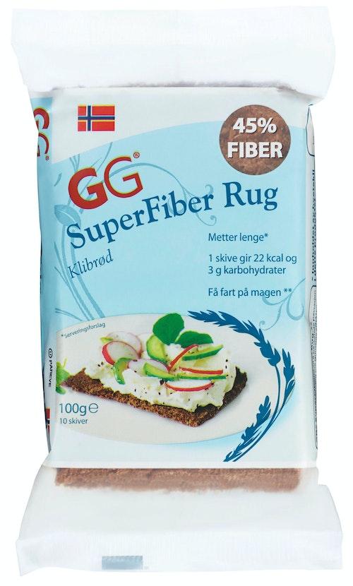 Uniqe Fiber GG Superfiber Rug Klibrød, 100 g