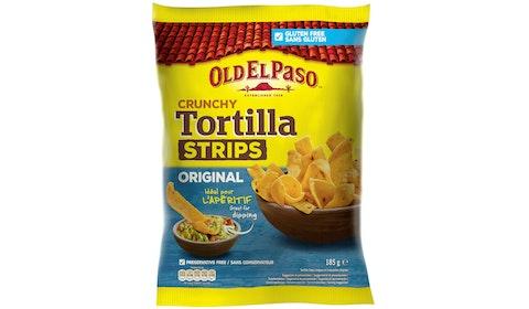 Tortilla Strips Original Salt 185g