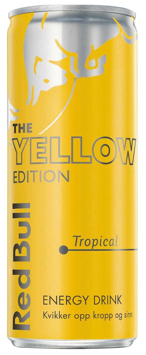 Red Bull Red Bull Energidrikk Yellow Edition Tropisk, 250 ml