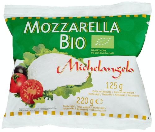 Økologisk Mozzarella 125 g