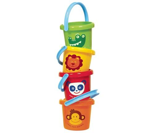 Nordic Toy Distribution Lekebøtte i plast Assortert variant, 1 stk