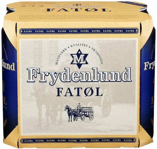 Frydenlund Frydenlund Fatøl Boks, 6x0,5l, 3 l