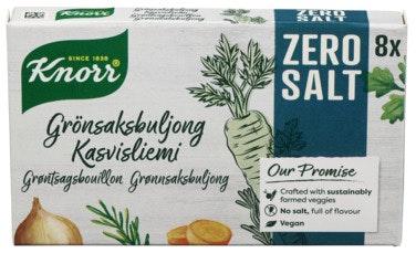 Knorr Knorr Organic Bouillon Veggie 8-pk 72 g