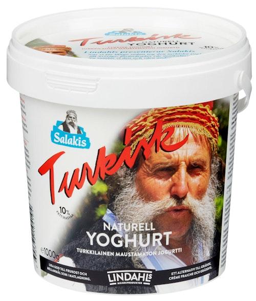 Lindahls Yoghurt Tyrkisk Naturell 10% 1 kg