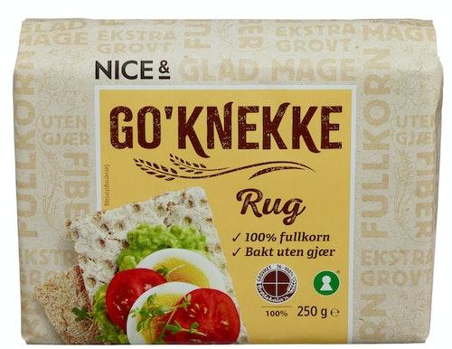 Nice& Go'knekke Rug 250 g