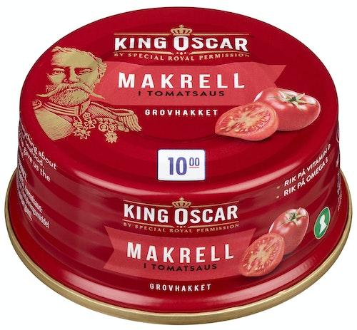King Oscar Makrell i Tomat 90 g
