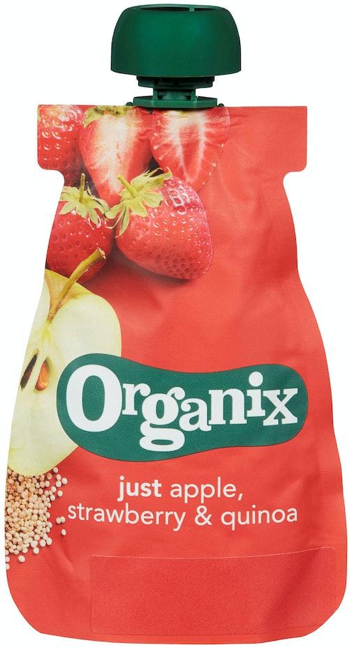 Semper Organix Eple, Jordbær & Quinoa 100 g