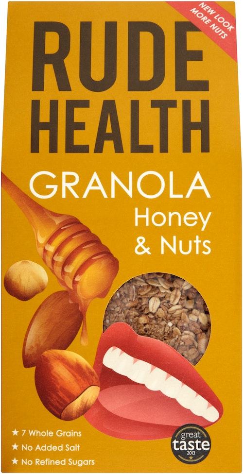 Rude Health Honey & Nuts Granola 500 g