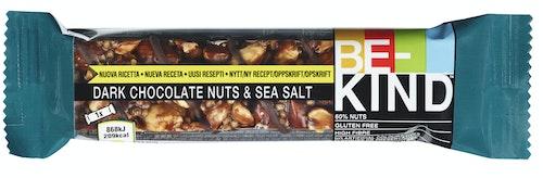 Be-kind Dark Choco Nuts&seasalt 40 g