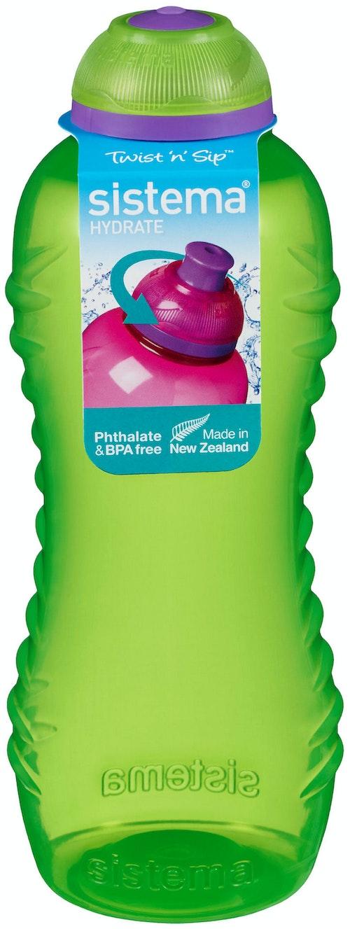 Sistema Drikkeflaske Squezze 460ml Tilfeldig Farge, 1 stk