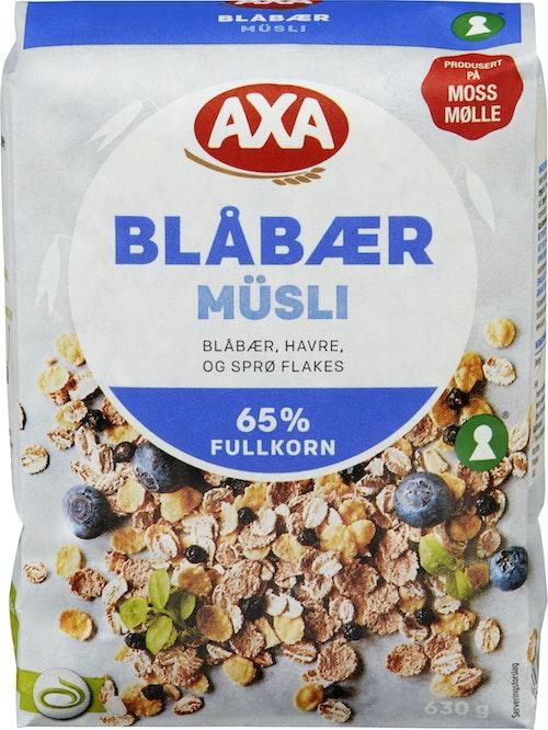 AXA Blåbær Musli 630 g