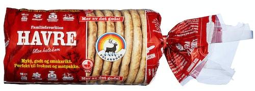 Polarbrød Havre Polarbrød 16 Stk, 600 g
