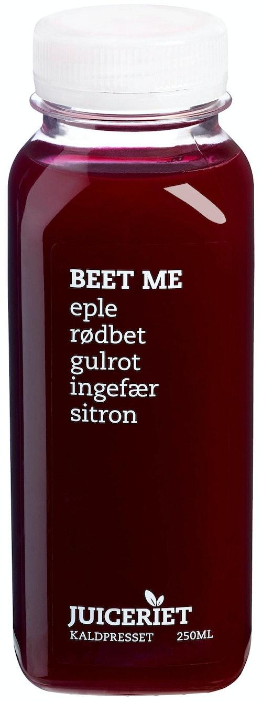 Juiceriet Beet Me Eple, Rødbet, Gulrot, Ingefær & Sitron, 250 ml