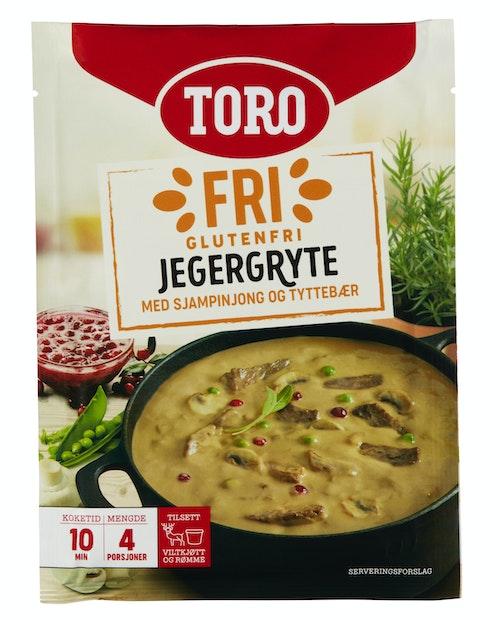Toro Toro Jegergryte Glutenfri, 90 g