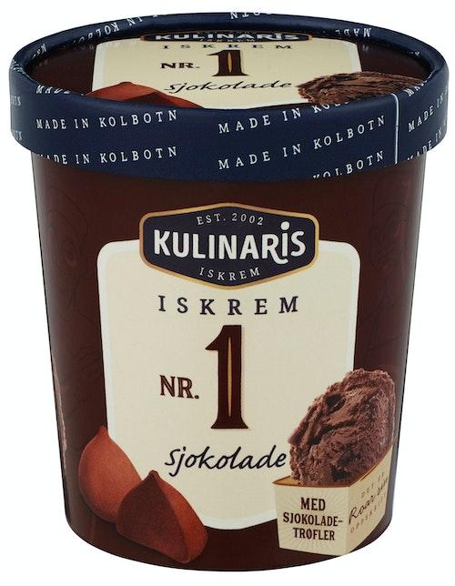 Kulinaris Sjokolade-Iskrem 0,5 l