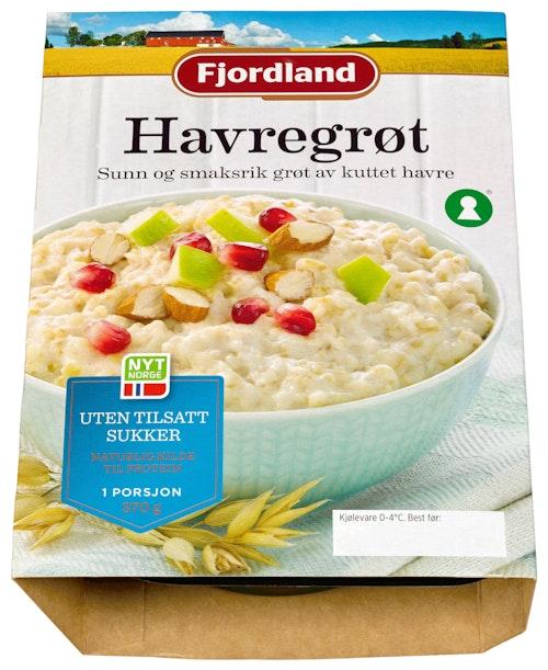 Fjordland Havregrøt 1 porsjon, 370 g