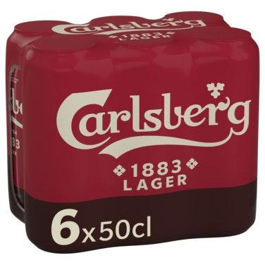 Carlsberg Carlsberg 1883 6 x 0,5l, 3 l
