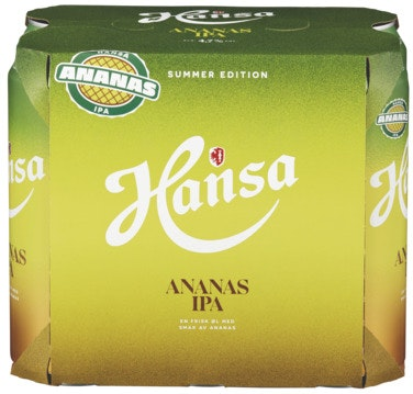 Hansa Borg Hansa Ananas IPA 6 x 0,5l, 3 l