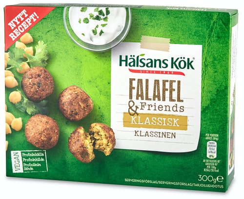 Hälsans Kök Falafel 300 g