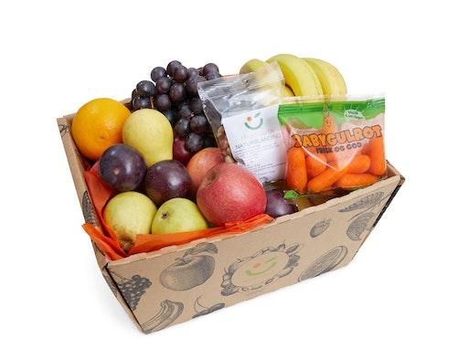 Fruktkurv Pluss Miks av frukt, 4,5 kg