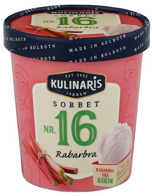 Kulinaris Sorbet av Rabarbra 0,5 l