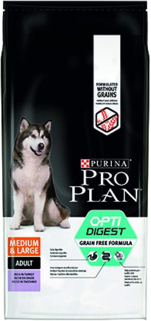 Pro Plan Grain Free Optidigest Medium/Large Adult, 14 kg