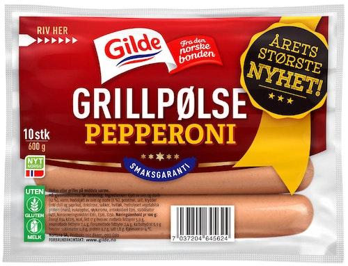 Gilde Grillpølse Pepperoni 600 g