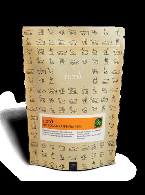 Nord Brenneri Hele Kaffebønner Filter Økologisk, 250 g