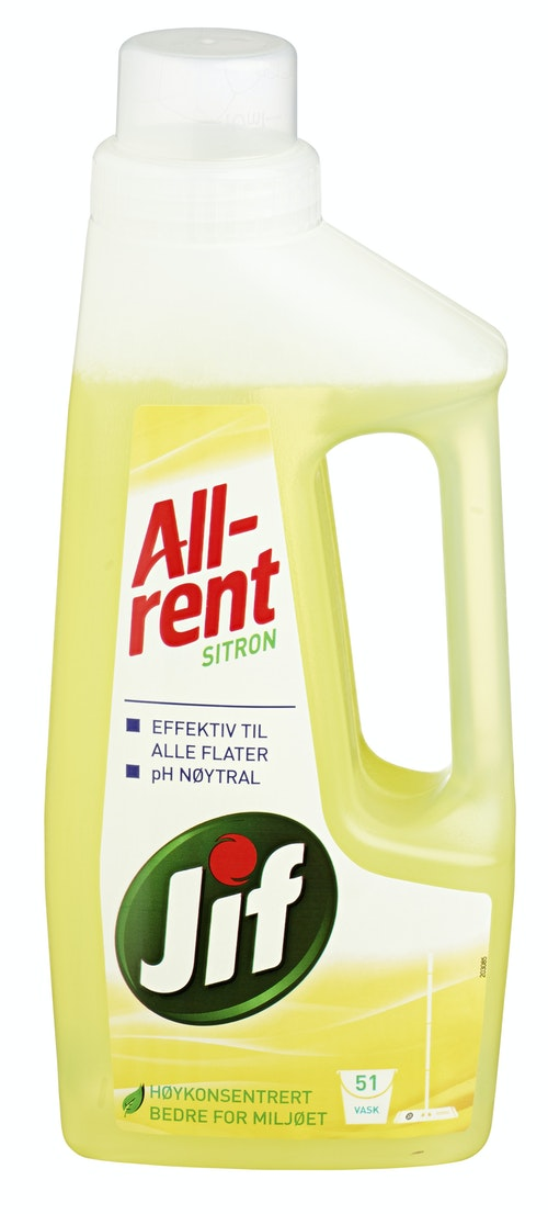 Jif Allrent Sitron Flytende, 595 ml