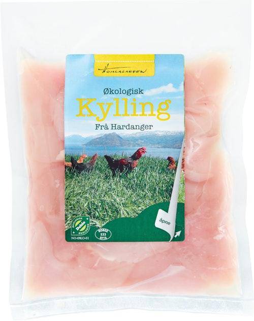 Homlagarden Økologisk Kyllingfilet I Skiver ca. 400 g