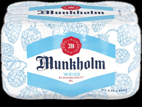 Munkholm Munkholm Weiss 6 x 0,33l, 1,98 l