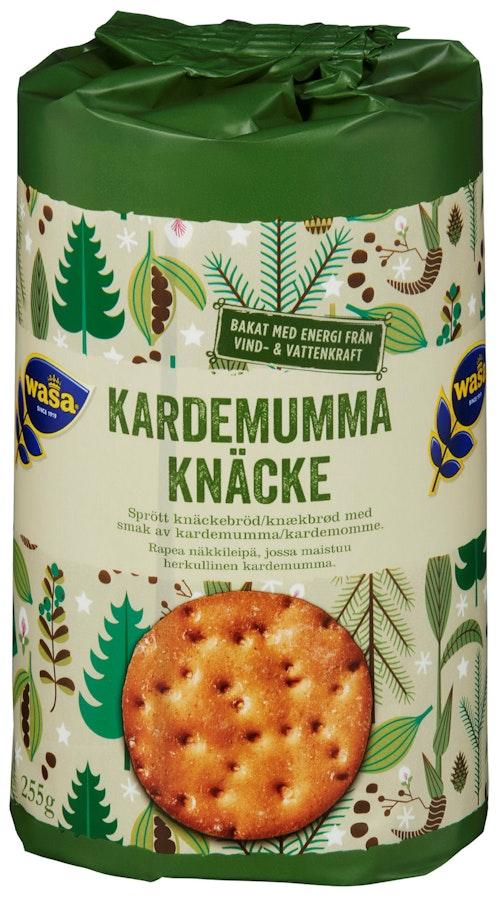 Wasa Knekkebrød Runda Kardemumme 255 g