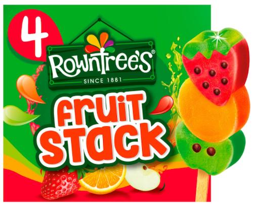 Rowntree's Ispinne Fruktsmak 4 stk, 280 ml