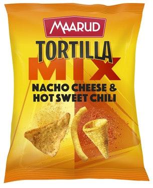 Maarud Tortilla Mix Cheese & Hot Sweet Chili, 185 g