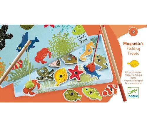 Djeco Fiskespill med tropiske fisker 1 stk