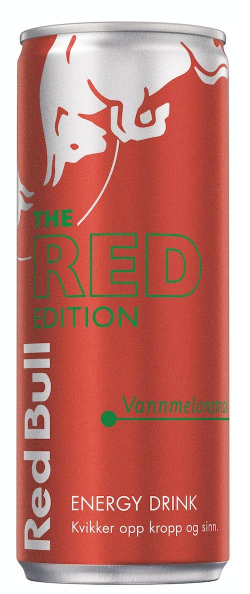 Red Bull Red Bull Energidrikk Red Edition Vannmelon, 250 ml
