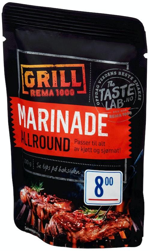 REMA 1000 Allround Marinade Taste Lab, 100 g