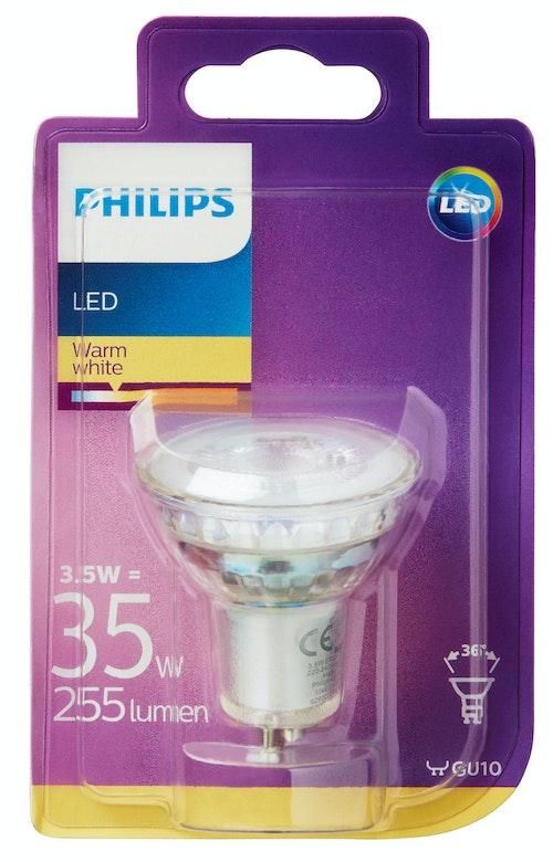 Philips Lyspære Led 35w, Gu10, 230v, 1 stk