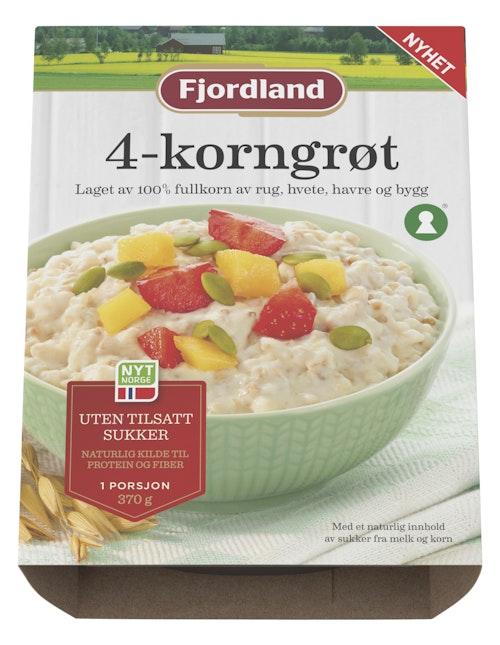 Fjordland Firkornsgrøt 370 g