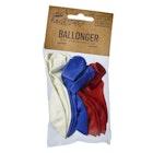 17. Mai Ballonger i rød, blå og hvit