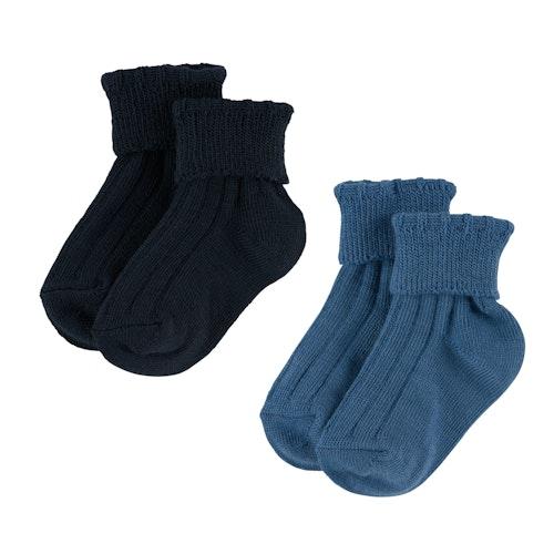 Reflex Babyullsokk Blå Størrelse: 16-18, 2 par