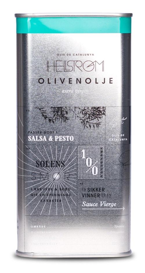 Hellstrøm Ekstra Virgin Olivenolje 0,5 l