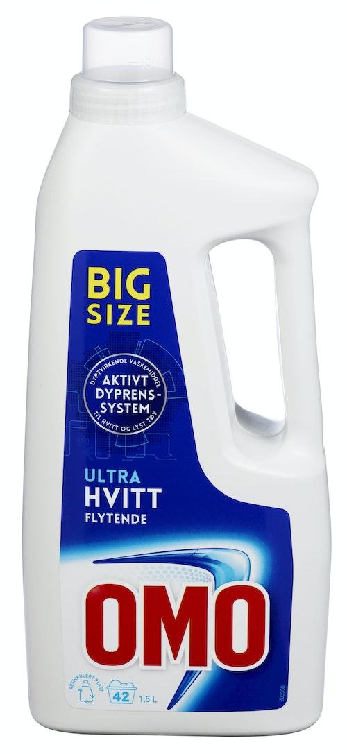 OMO Omo Ultra Hvitt Flytende Big Size 1,5 l